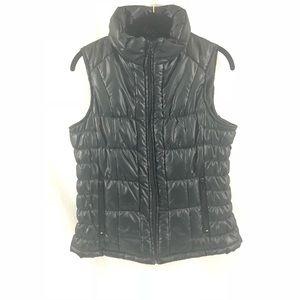 New York & Company Black Puffer Vest MSRP $46.95